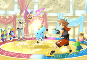 KH: Flick Rush Final Round! by KENZICHII