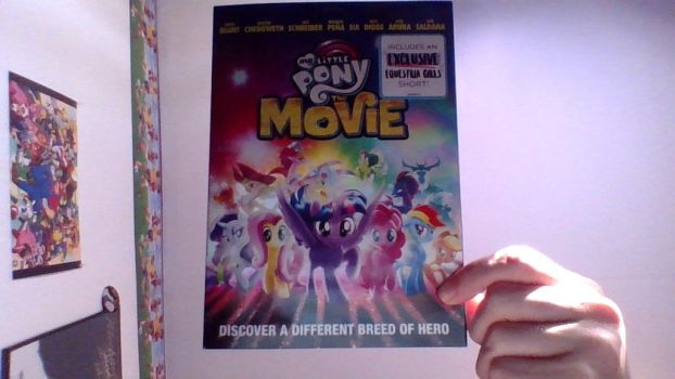 I Got The MLP Movie DVD by Daltonlampert123