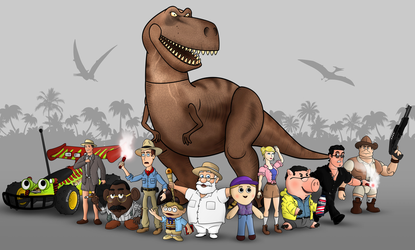 Jurassic Toy Park by DonTedesco