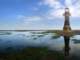 Whitford Point Lighthouse by nectar666