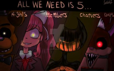 Terrors come in all Forms by GalaxyCake667