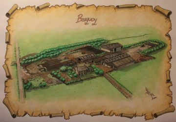 Beaquoy Farm Project - a commission by saganich