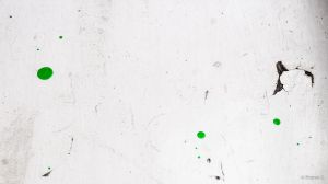 White colored wood and the green colored dots by pranav03