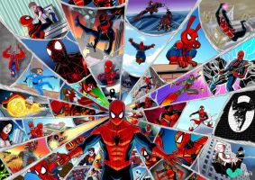 Spider-Verse COMPLETE by BloodySamoan