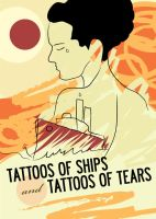Tattoos of ships and tears by bashoo