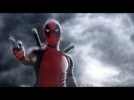 Cold Deadpool. by hybridgothica