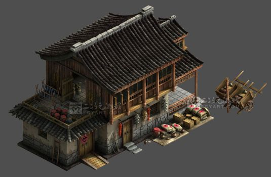 An ancient chinese depot by Ecystudio