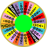 1986 Round 3 Daytime Wheel with Jackpot Space by mrentertainment