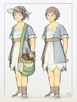 Sophia - Character Concept by Astral-Requin
