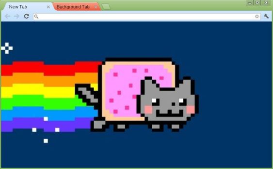 Nyan cat theme by SpikeBlitzKrieg