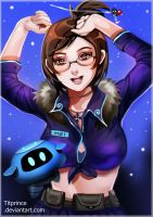 [COMMISSION OPEN] MEI - OVERWATCH by TitPrince