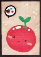 Why did the tomatoe.. ACEO 131 by Arthay
