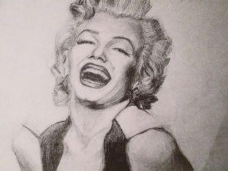 Marilyn Monroe by MariaAznar