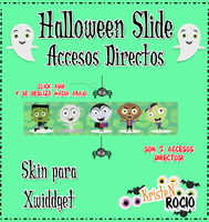 Halloween Slide Accesos Directos(Xwidget) by RoohEditions