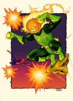 Jack O'Lantern - Slims01 colors by SpiderGuile