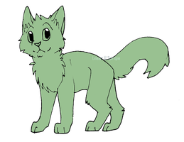 Cat Lineart [P2U] by Spiritpie