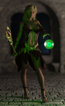 Sorceress of Thandele 720p by delve-art