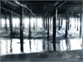 Beauty Beneath the Pier. by Guacilimelon