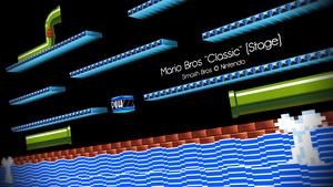 [MMD] Mario Bros. Classic Stage DL by MrWhitefolks