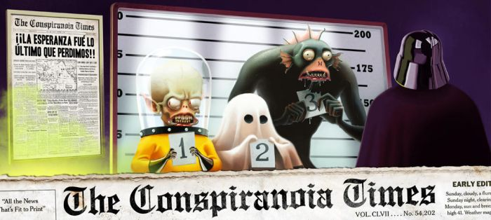 The Conspiranoia Times by Cowboy-Lucas
