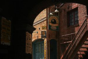 Old Town Stock 2 by GloomWriter