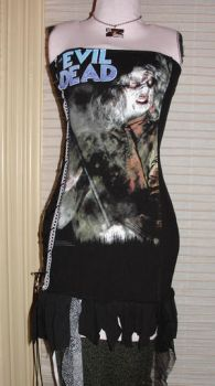 evil dead dress by smarmy-clothes