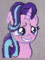 {Perler} Starlight Glimmer is Officially Cute by OddishCrafts