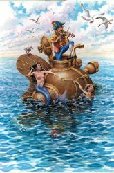 The Engineer and the Mermaids by postapocalypsia