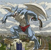 X-Buimon old style by FlamSlade