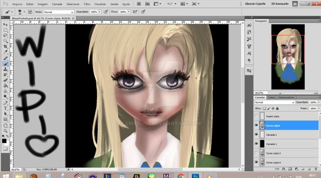 WIP: Mary - Ib by ErixOliver