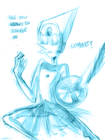 Holo Pearl - sketch by AtomicKitten13
