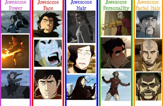 Legend of Korra Awesomeness by youbigface1