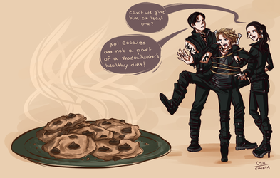 Not one cookie. by cinash