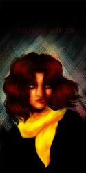 The Yellow Scarf by gavrieel