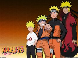 Naruto Costumes Sage Version by crz4all