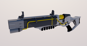 Fallout Slick Laser Rifle WIP by TheoComm