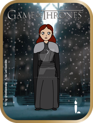 Sansa Stark - Game of Thrones. by Ledilustrado
