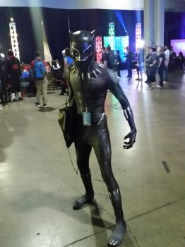 Momocon 2018: Black Panther by dcb2art