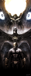 Birdman/Batman/Vulture by naratani
