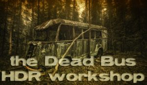 the Dead Bus - HDR workshop by wchild