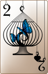 Trapped Theme :: 2 of Spades by ciomaria