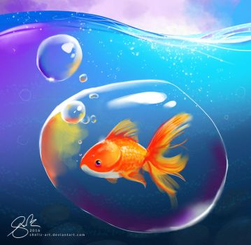 Youtube | Goldfish by shellz-art