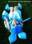 Glaceon Cosplay by HinaUmiCosplay