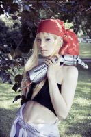 Winry Rockbell - time for work by RomaiLee
