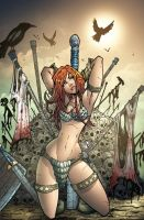 RED SONJA COLORS by IRLGZZ