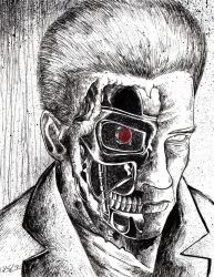Terminator by uncouthbarbarian