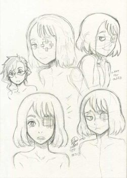 Lilly-Lamb Sketchbook 2017 Part 6 by Lilly-Lamb
