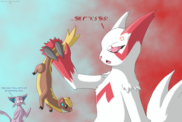 Yungoos, Meet Zangoose... by SuperSonicGX
