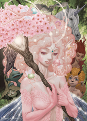 Volume 39 - Fairy Queen and magic creatures by Claudia-Cher