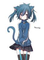 [Render #105] Ene Cat by sandrareina